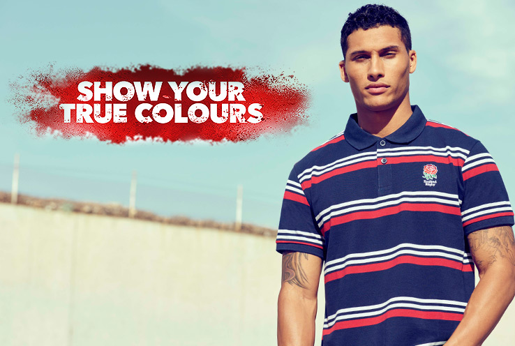 Kick off the greatest rugby championship and get behind your nation with our new sportswear range.