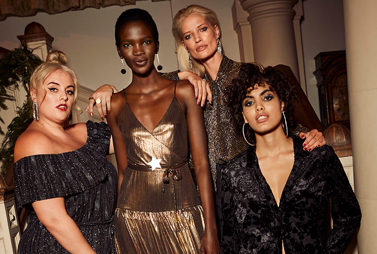 Count down the New Year in style with our glamorous partywear collection
