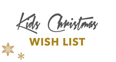 Kids Christmas Wish List