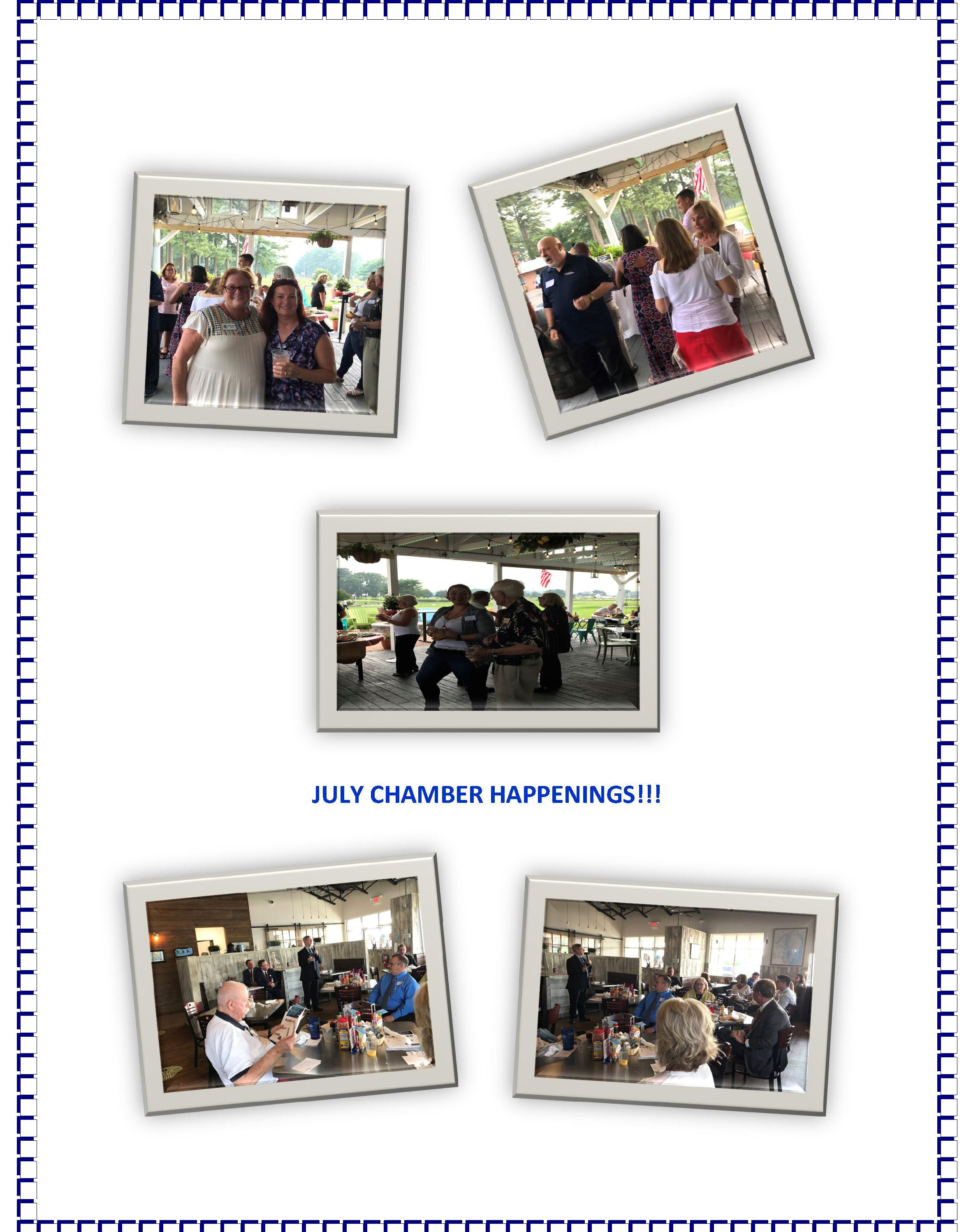July networking fun!!