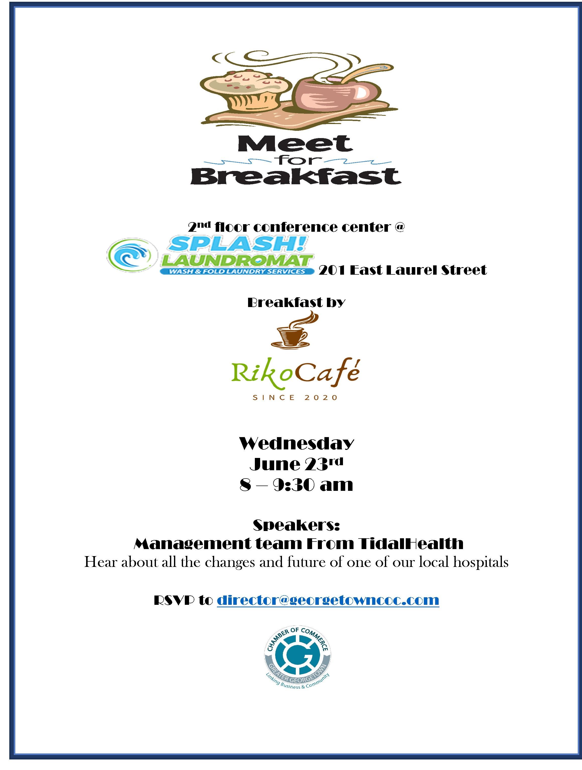 June membership breakfast