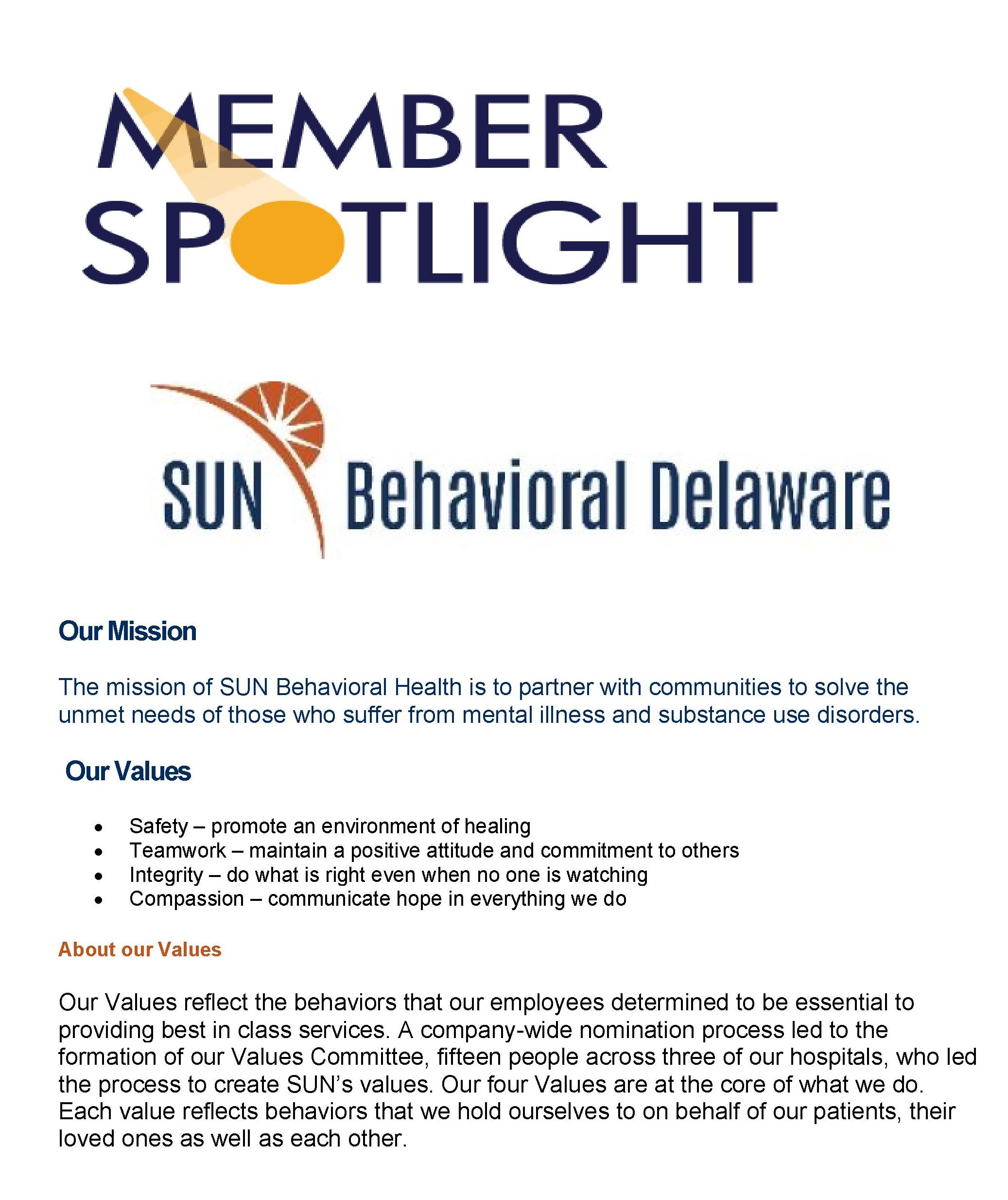 member spotlight SUN-1