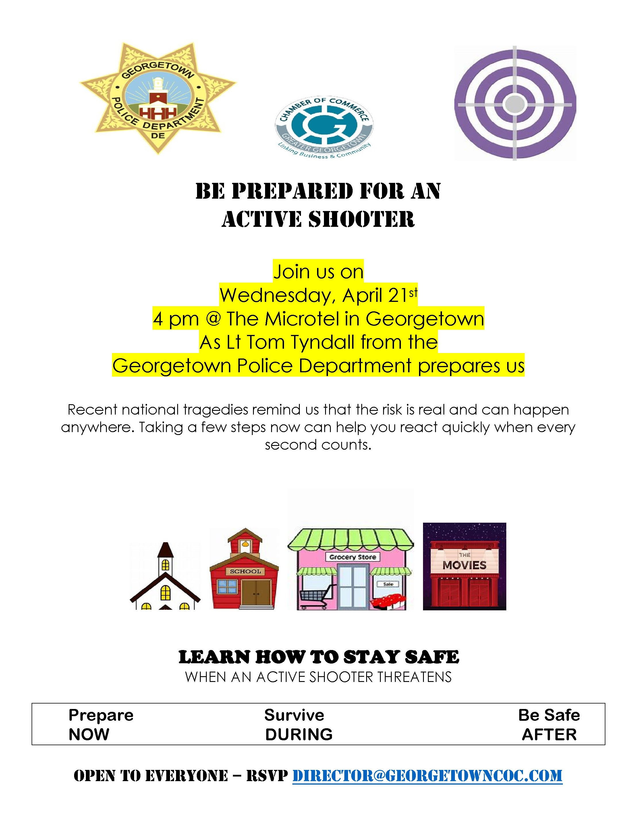Be Prepared for an Active Shooter