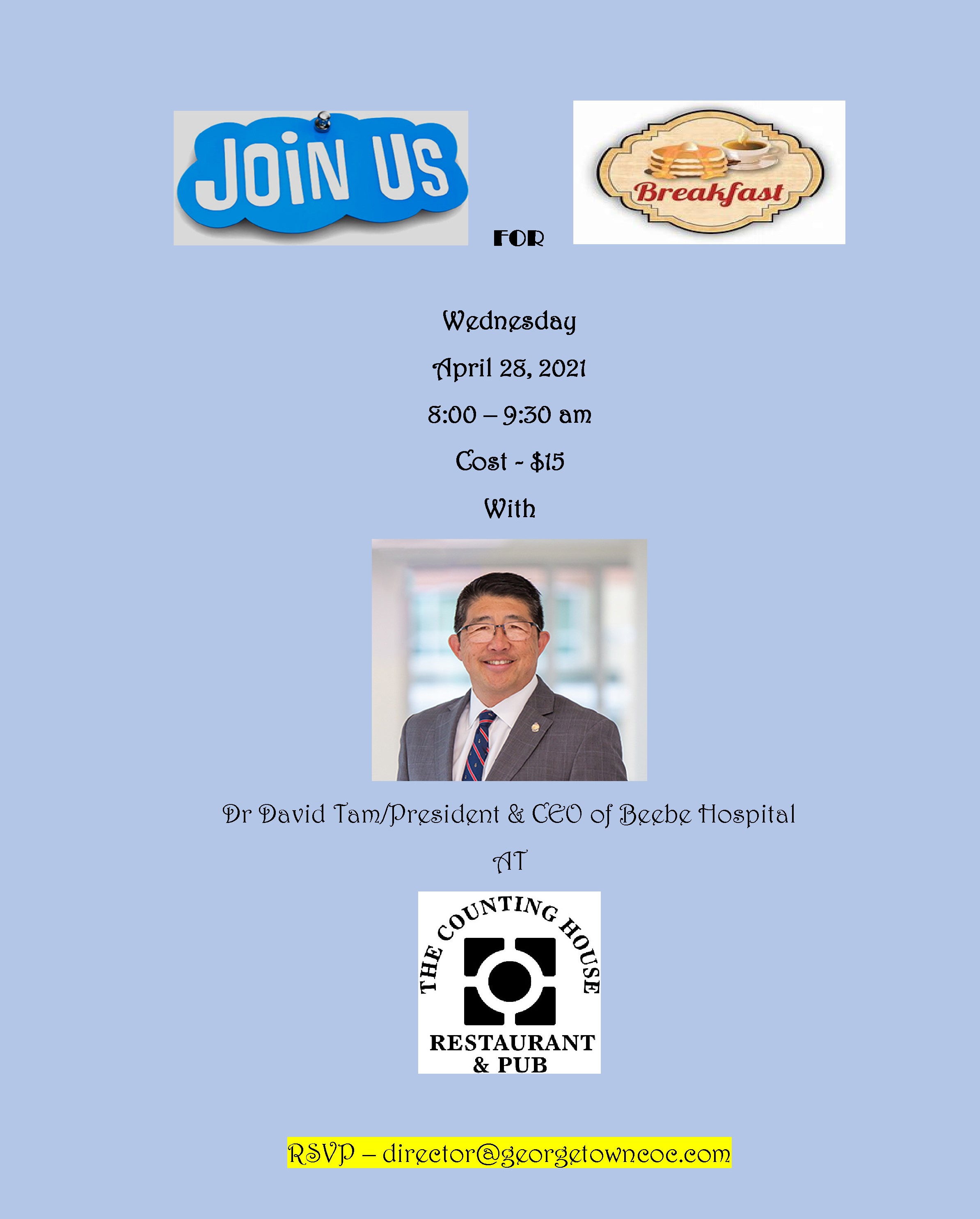 Breakfast with Dr. David Tam