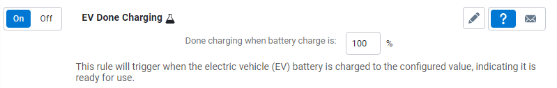 EV done charging