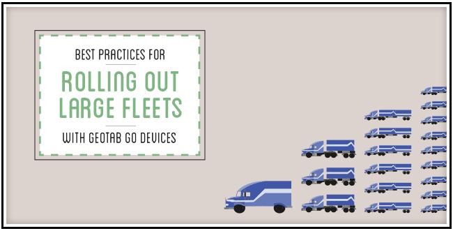 One blue van, than 3 blue transport trucks stacked, than 5 transport trucks stacked than 7 transport trucks.