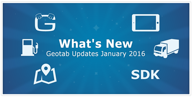 January 2016 Software and Firmware Updates from Geotab