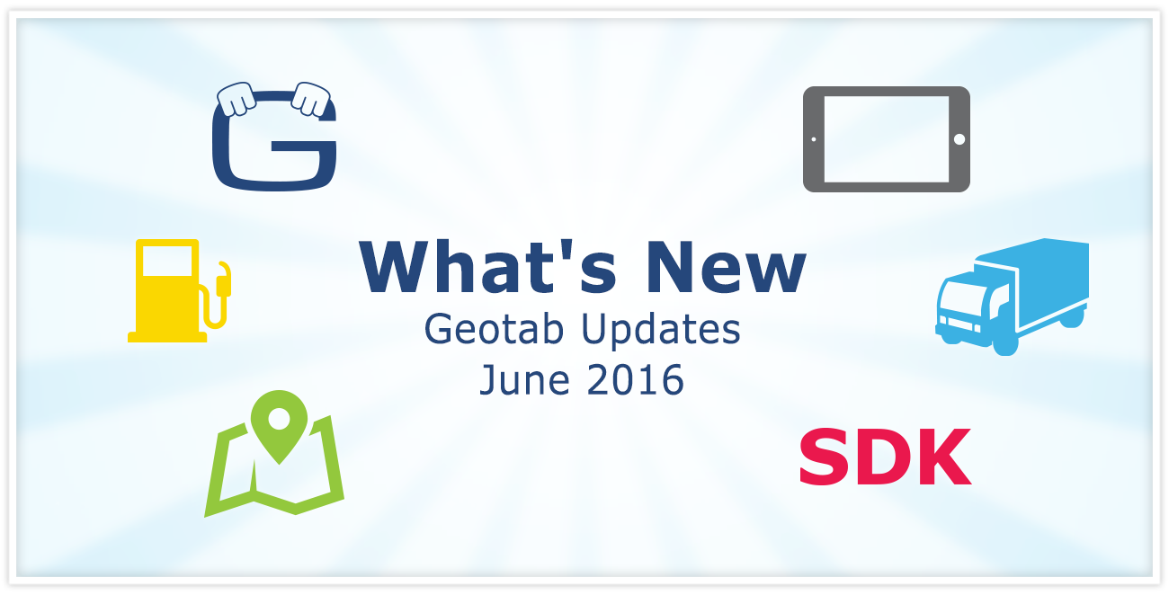 Geotab Software Firmware Updates (June 2016)