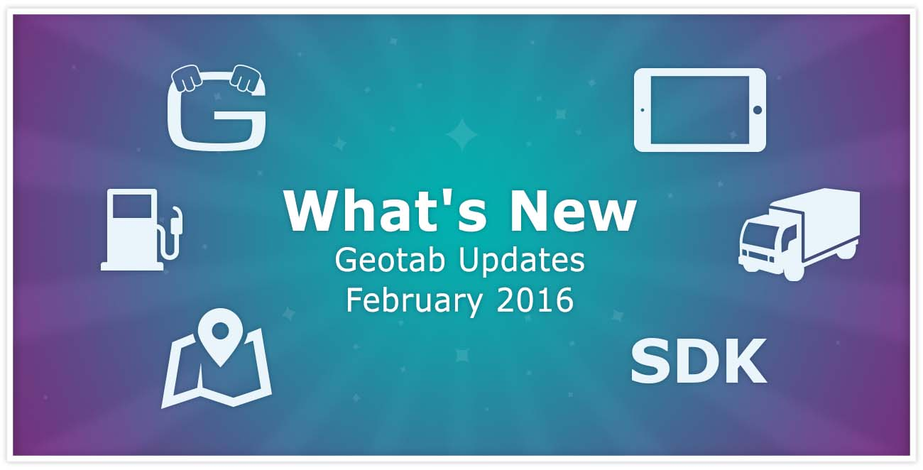 Fleet Management Software and Device Updates (February 2016)