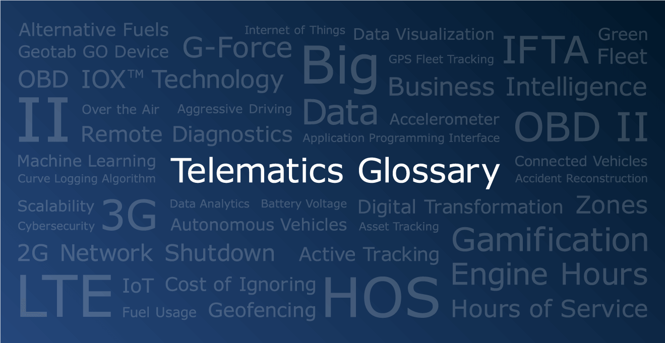 Telematics Glossary: 60+ Terms to Know