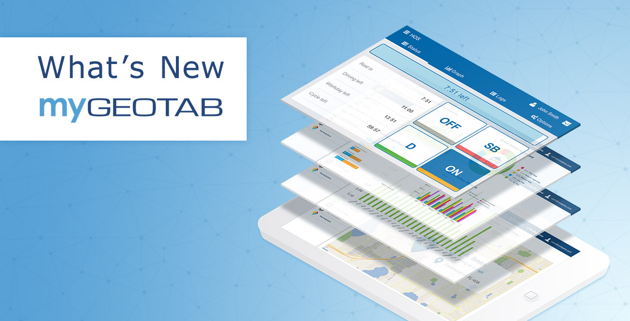 Geotab Drive & MyGeotab Updates July 2017: New User-Friendly Vehicle Inspection Workflow