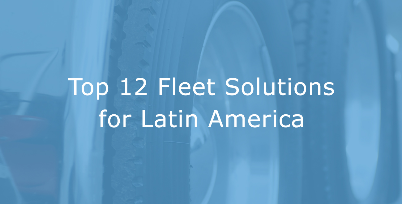 Top 12 Most Popular Geotab Marketplace Solutions for Latin America
