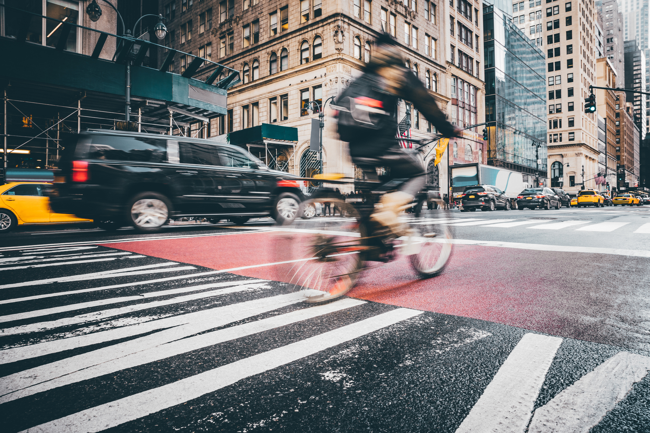 Drivers in NYC which uses telematics to meet Vision Zero safety objectives