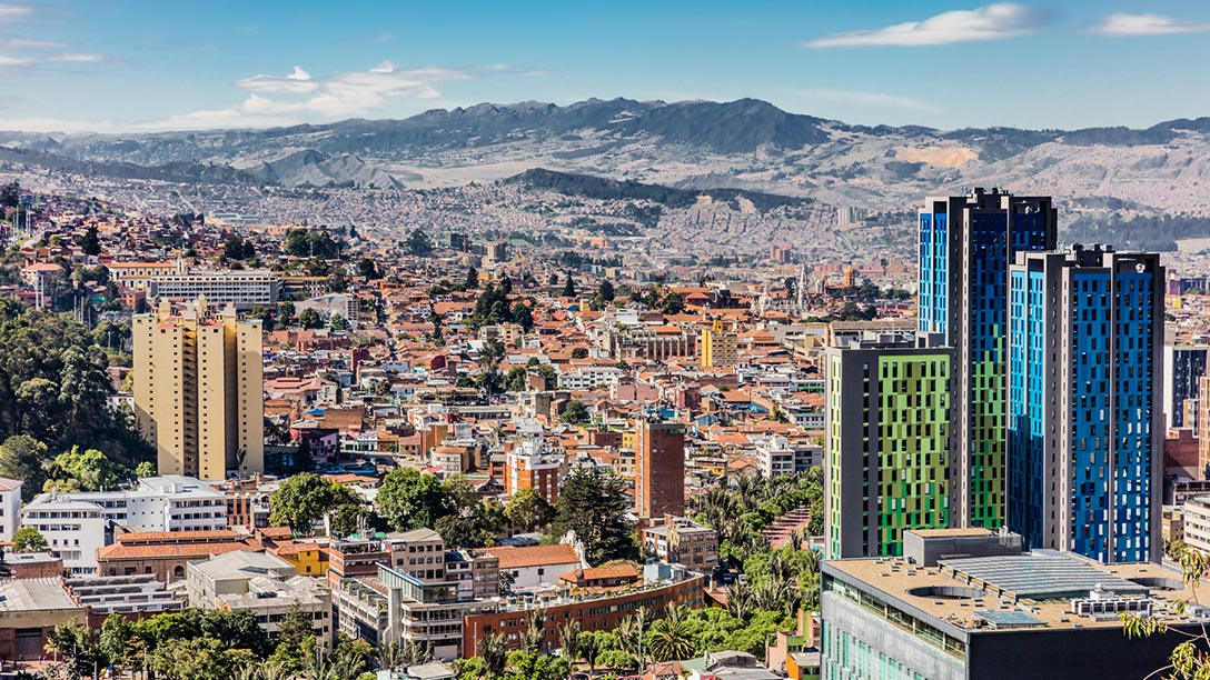 Bogota Traffic Jam: Colin Sutherland Video Diary