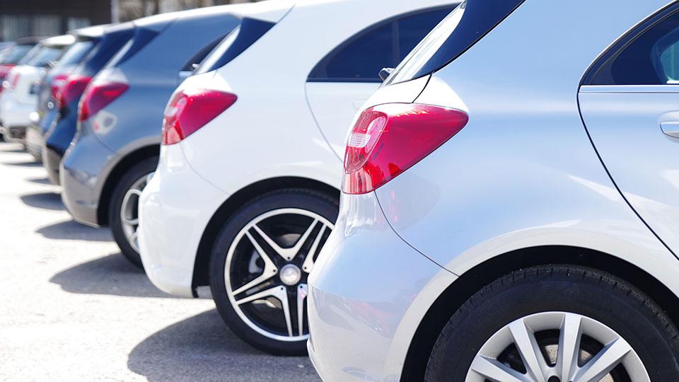 vehículos aparcados