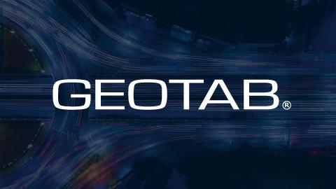 Geotab telematique route données