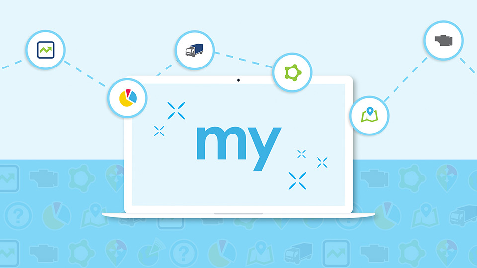 Banner in 2 colors of MyGeotab