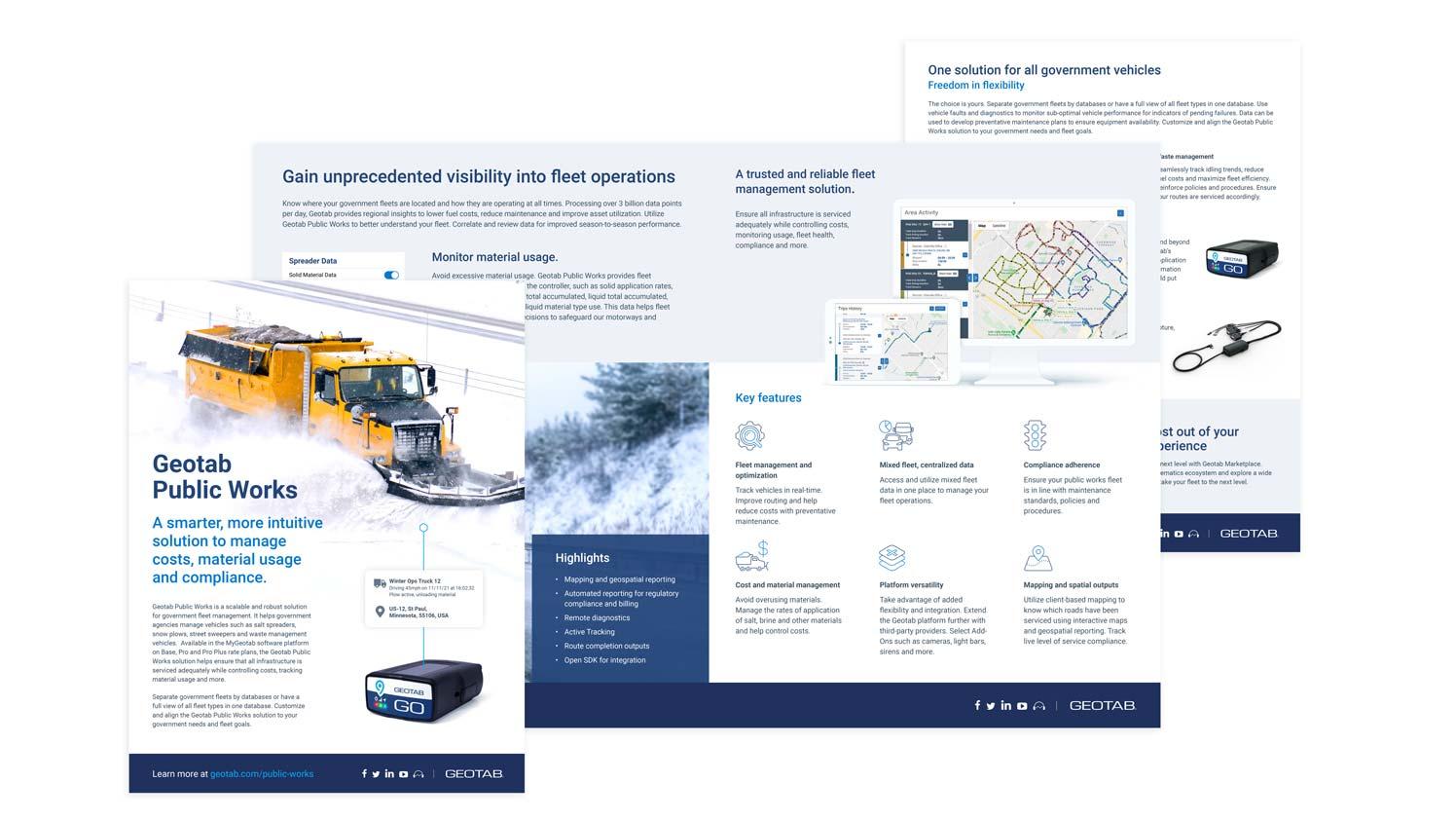 Geotab Public Works Brochure