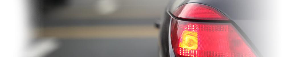 A car's brake light