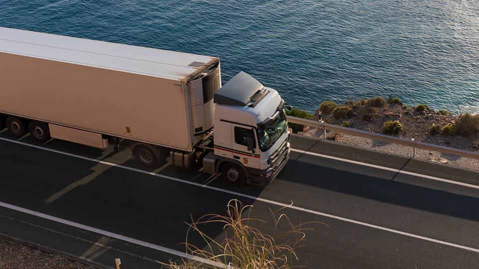 Immagine della soluzione Geotab per trasporto refrigerato