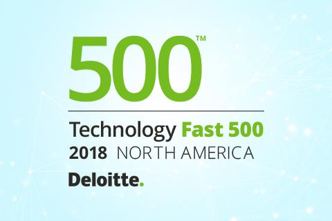 Deloitte's 2018 Technology Fast 500 logo
