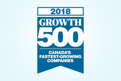 2018 Growth 500 logo