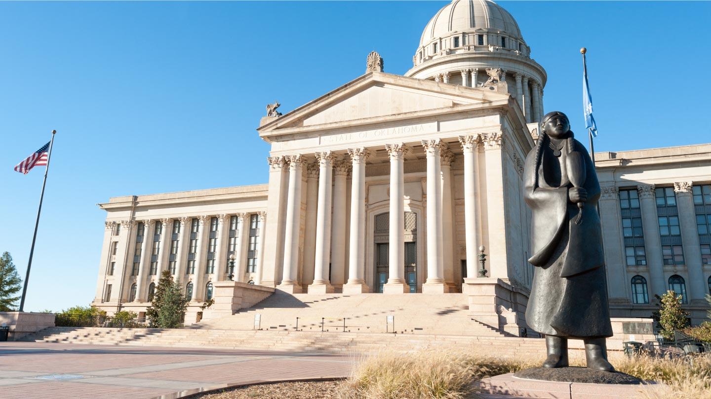 Oklahoma capital building