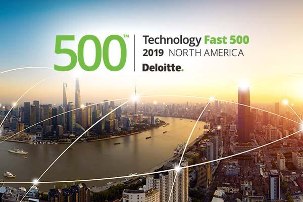 Skyline with Deloitte Fast 500 logo