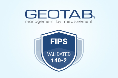 Geotab logo and FIPS validation logo
