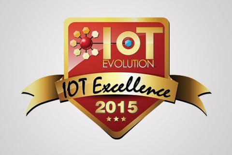 2015 IoT Excellence Award logo