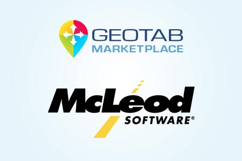 Geotab Marketplace & McLeod Software logo