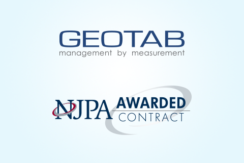 Geotab and NJPA Award logo