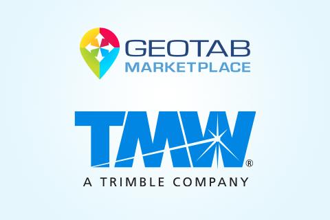 TMW & Geotab Marketplace logos