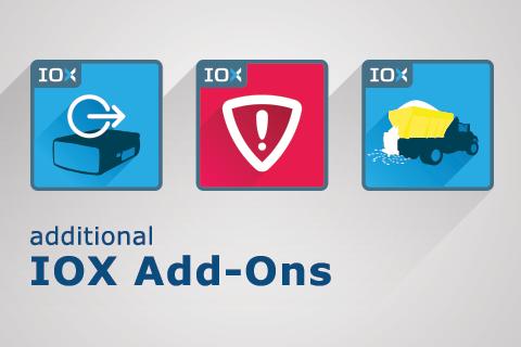 IOX add on logos