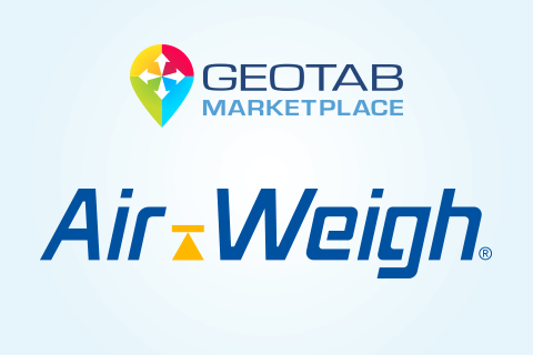 Air Weigh and Geotab Marketplace logo