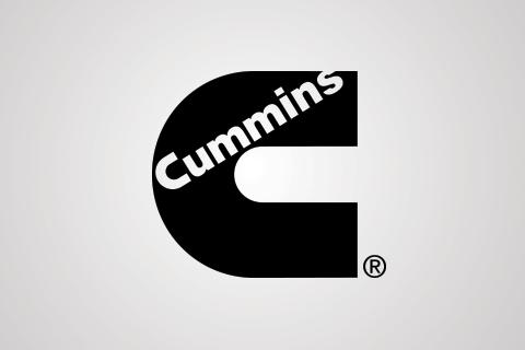 Cummins logo on white background