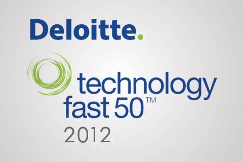 Deloitte technology fast 50 2012 logo