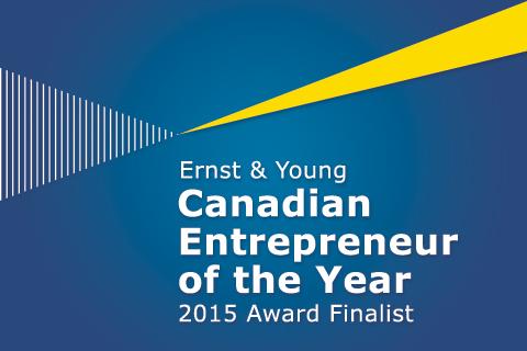 EY Entrepreneur Of The Year Canada 2015 Finalist logo