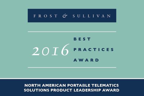 2016 Frost & Sullivan North American Product Leadership Award