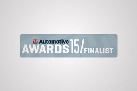 Geotab TU Automotive Awards Finalist logo