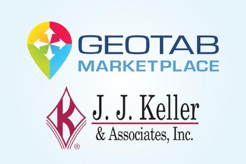 J.J. Keller and Geotab Marketplace logo