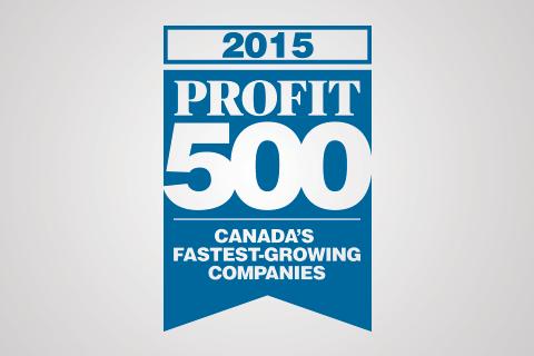 2015 PROFIT 500 logo