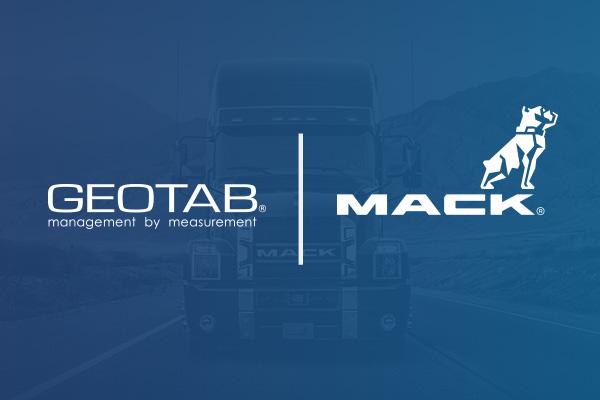 Geotab and Mack Truck logo