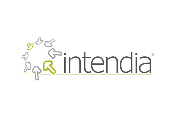 Intendia logo on white background