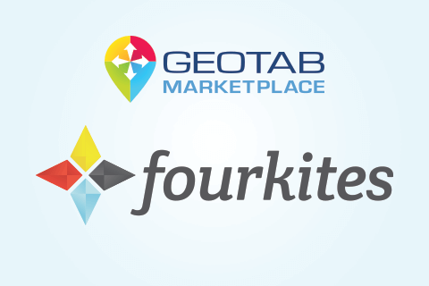 FourKites and Geotab Marketplace logo