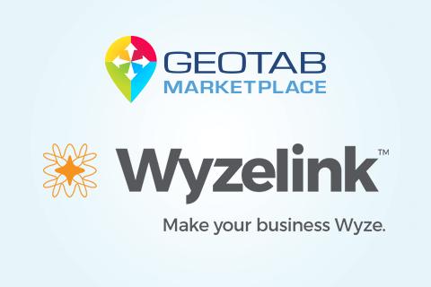 Wyzelink & Geotab Marketplace logos