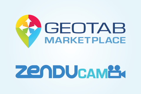Geotab Marketplace and Zenducam logo