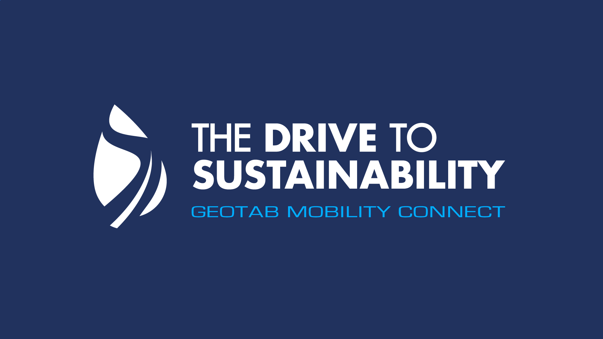 The Drive to Sustainability logo.