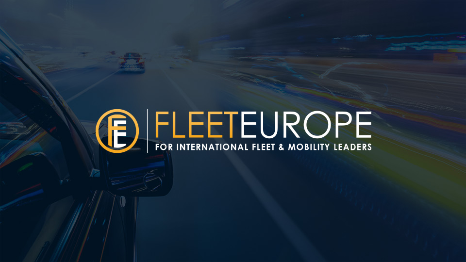 Fleet Europe logo and street in the background