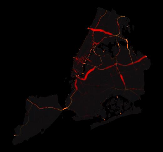 New York temperature map